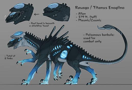 ravago (monsterverse oc)