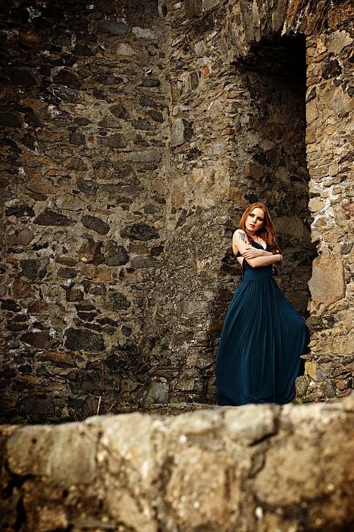 old castle young beauty by gestiefeltekatze
