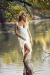 Lonesome Lake (me modeling)