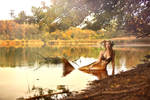Fall's golden colours : the mermaid