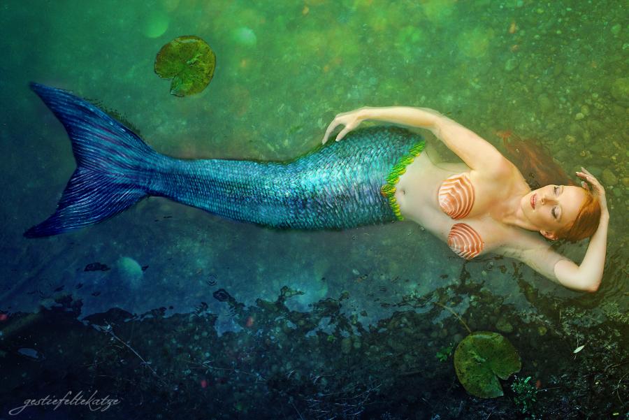 Magical Mermaid by gestiefeltekatze