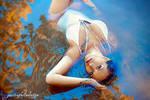 Sarah at the water
