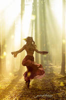 the dancing witch by gestiefeltekatze