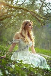Spring fairy (me modeling) by gestiefeltekatze