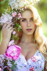 spring portrait (me)