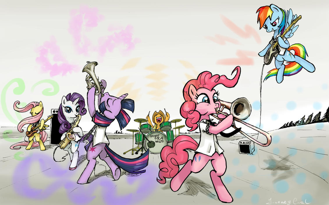 Pony Ska Band - Colors by Almaska