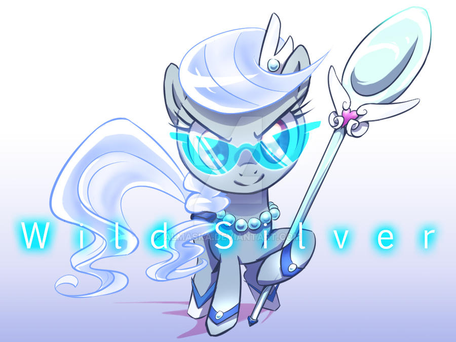 Everfree Filly: Wild Silver by Almaska