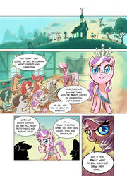 Everfree Filly: page 1 by Almaska