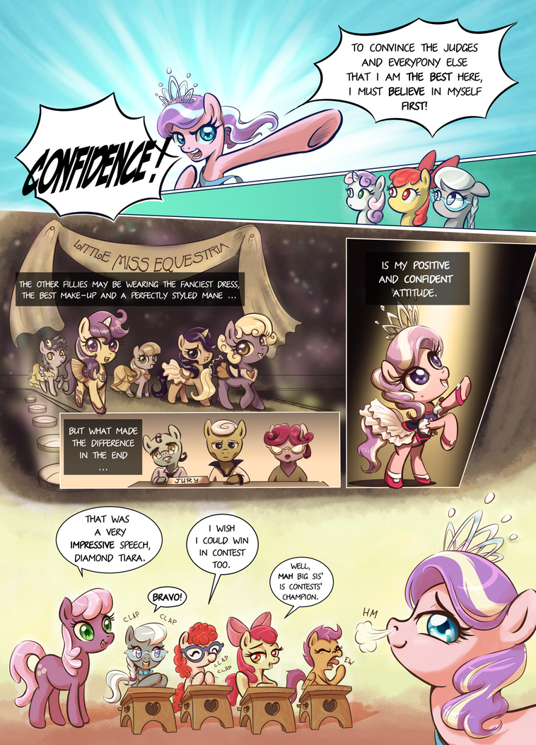 Everfree Filly: page 2 by Almaska