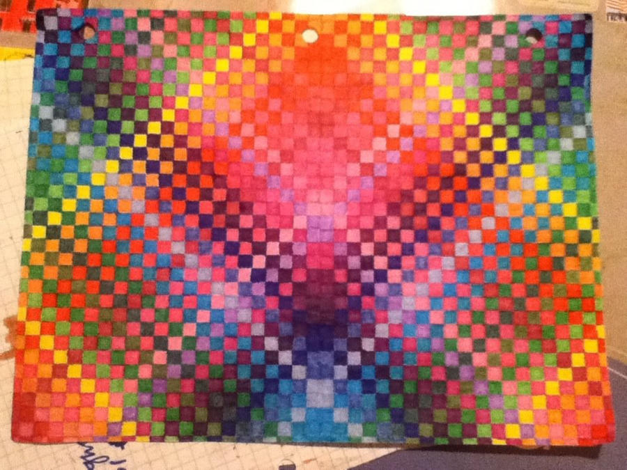 Colored Graph Paper Finished By AmbreLaRock On DeviantArt