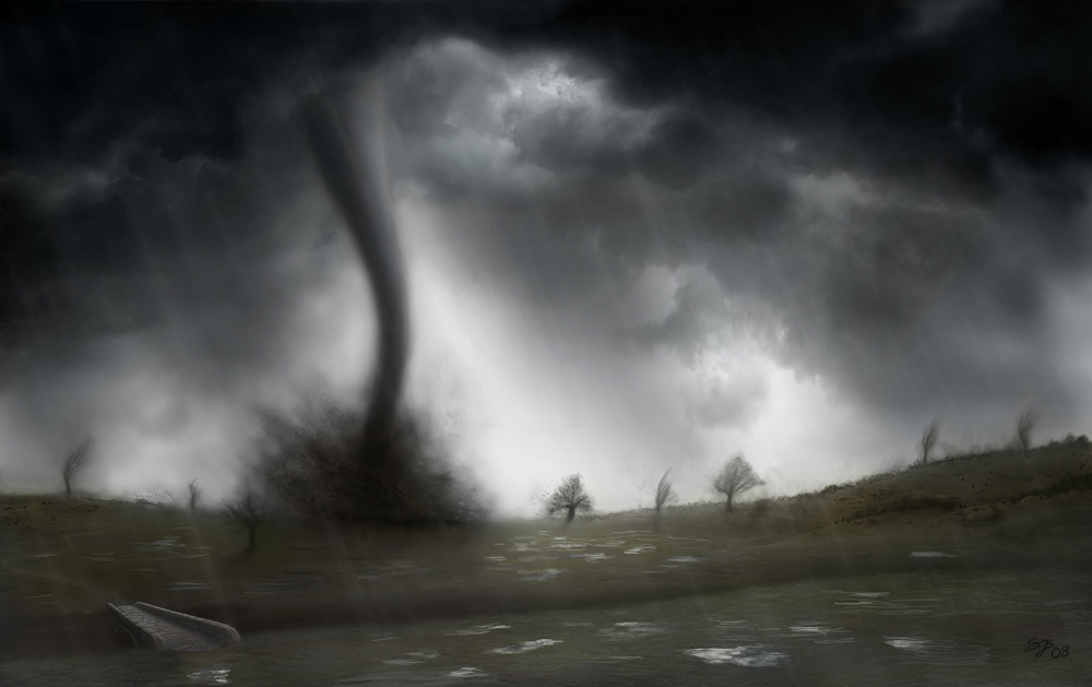 Nature Unleashed Tornado Face