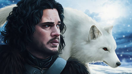 The White Wolf by OffbeatWorlds