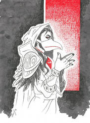 Medivh Raven by MitaraMirgtabrakke