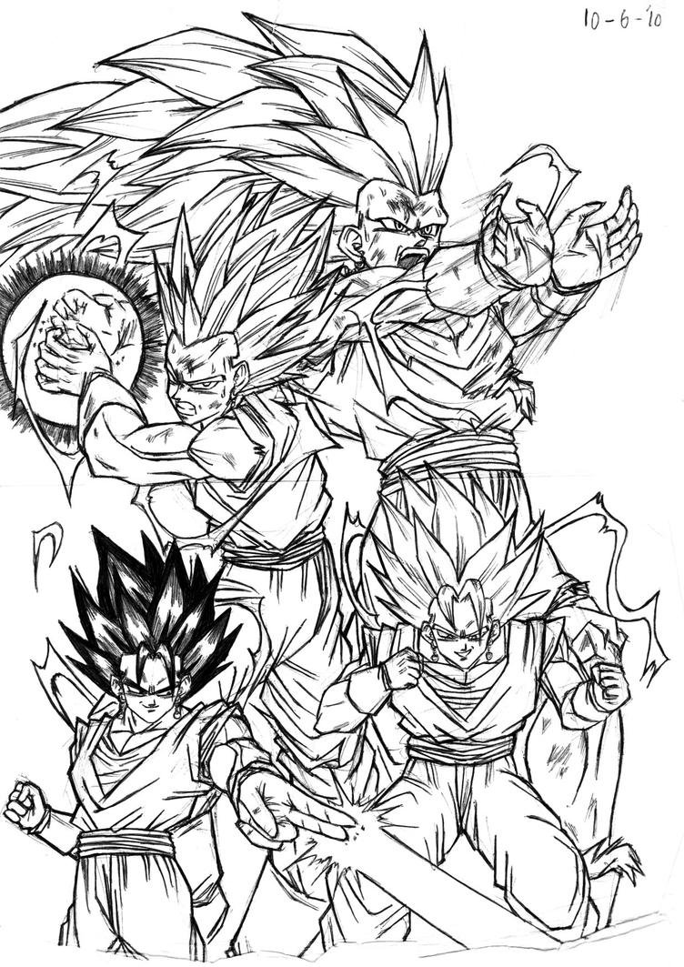 Vegetto DBM by Slangh on DeviantArt