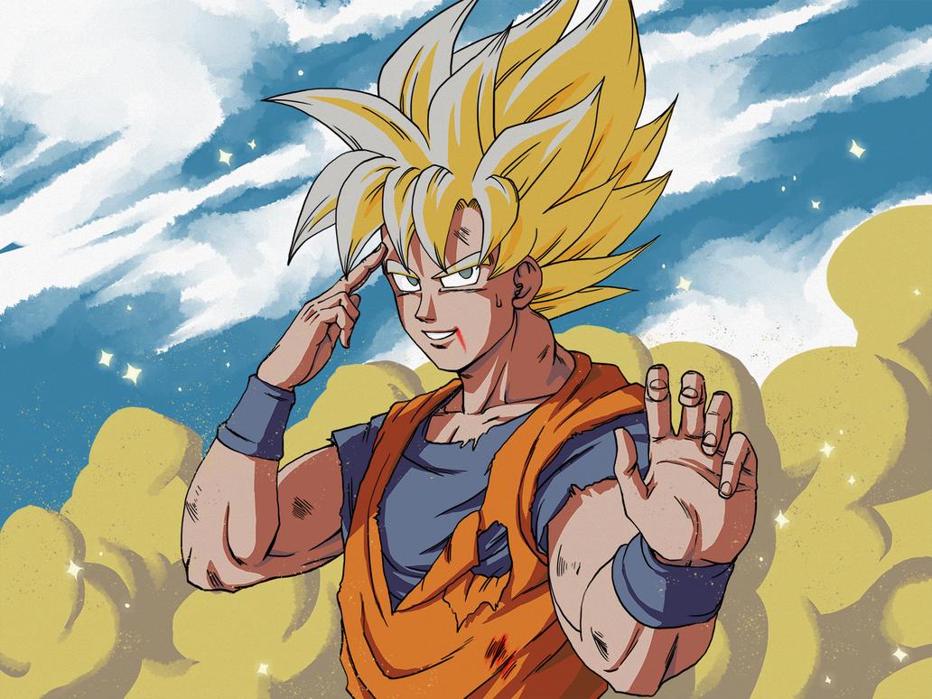 Goku #DBRedraw by Slangh