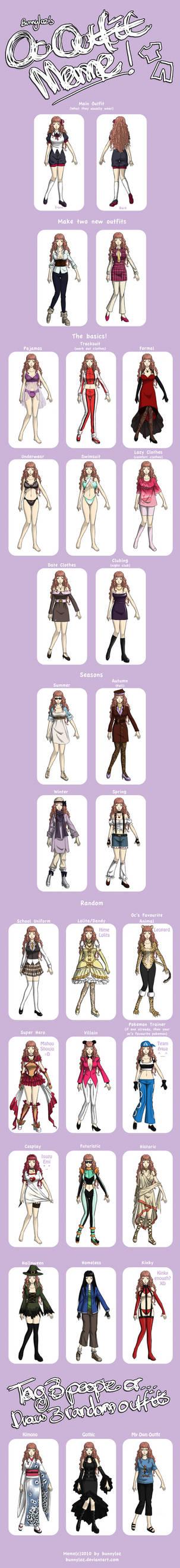 Rensei Outfit Meme