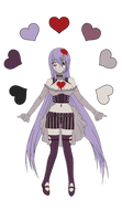 Creepy OC Design for Marushi-Draculs Contest by CatharsisGaze