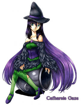Witch Maryscha - colored