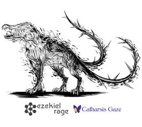 Monster - Commission for Ezekiel Rage by CatharsisGaze