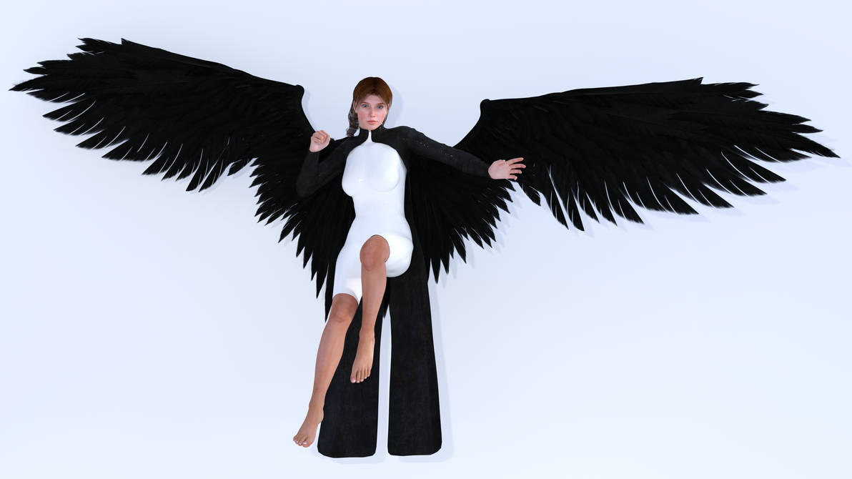 Angel Abigail by Ravens-Thorn