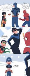 Marvel vs DC by OtterTheAuthor
