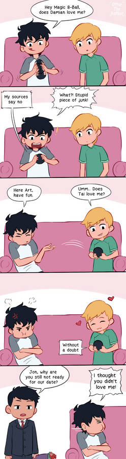 Not too late for Valentine comic, yes?