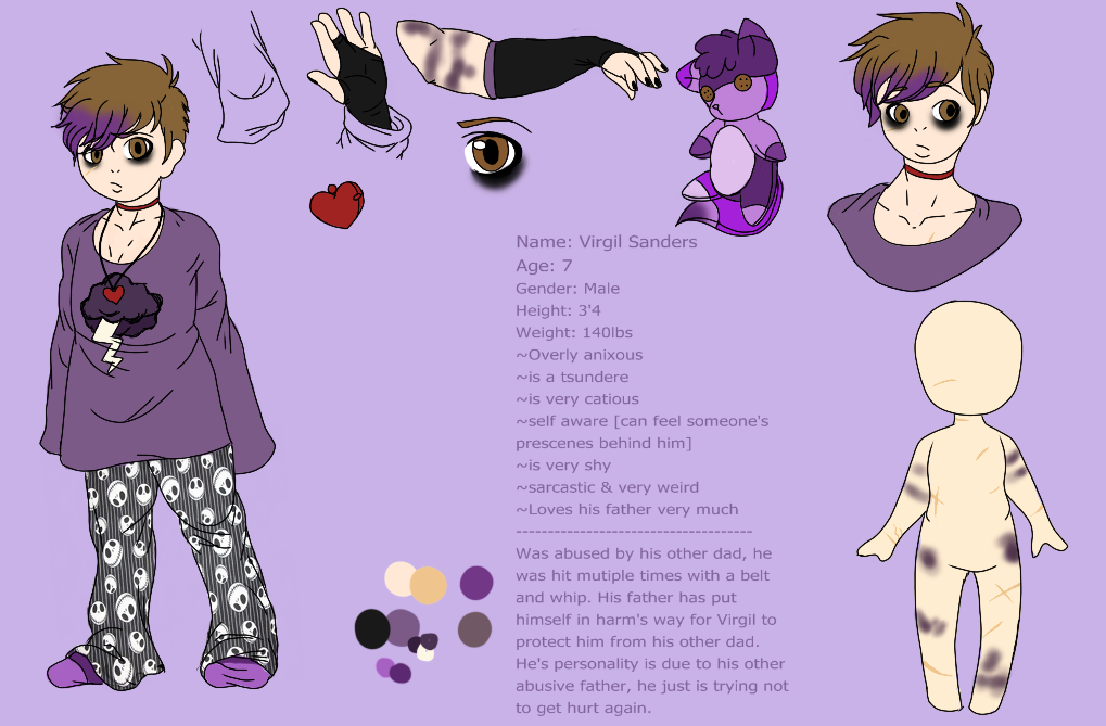 Virgil ~ Child ref by xXPoltergeistOnnaXx