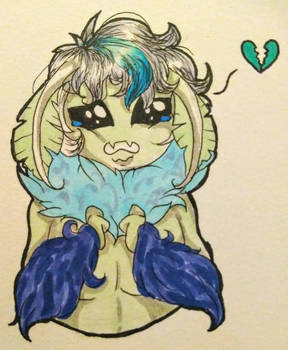 Sad Moth Boi ~ Sander Side Moth AU