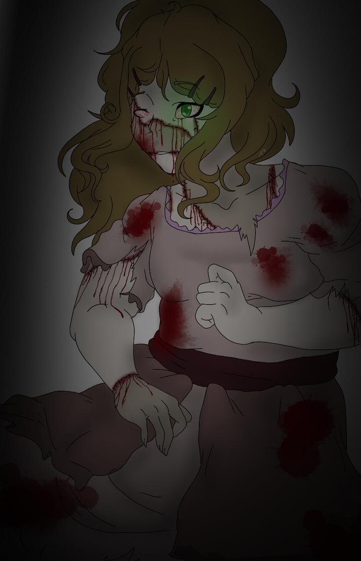 Art Trade with NightmareQueenKasei || Grace by xXPoltergeistOnnaXx
