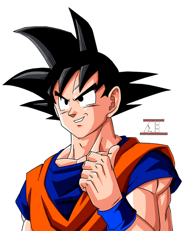 Goku Normal by anghelynaedition on DeviantArt