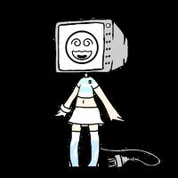 CLOSED TV HEAD ADOPT by Violeta-Adopts