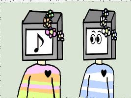 cLOSED : Hand Drawn TV Adopts 0/2 by Violeta-Adopts