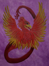 Feathered Dragon by kaylalowes