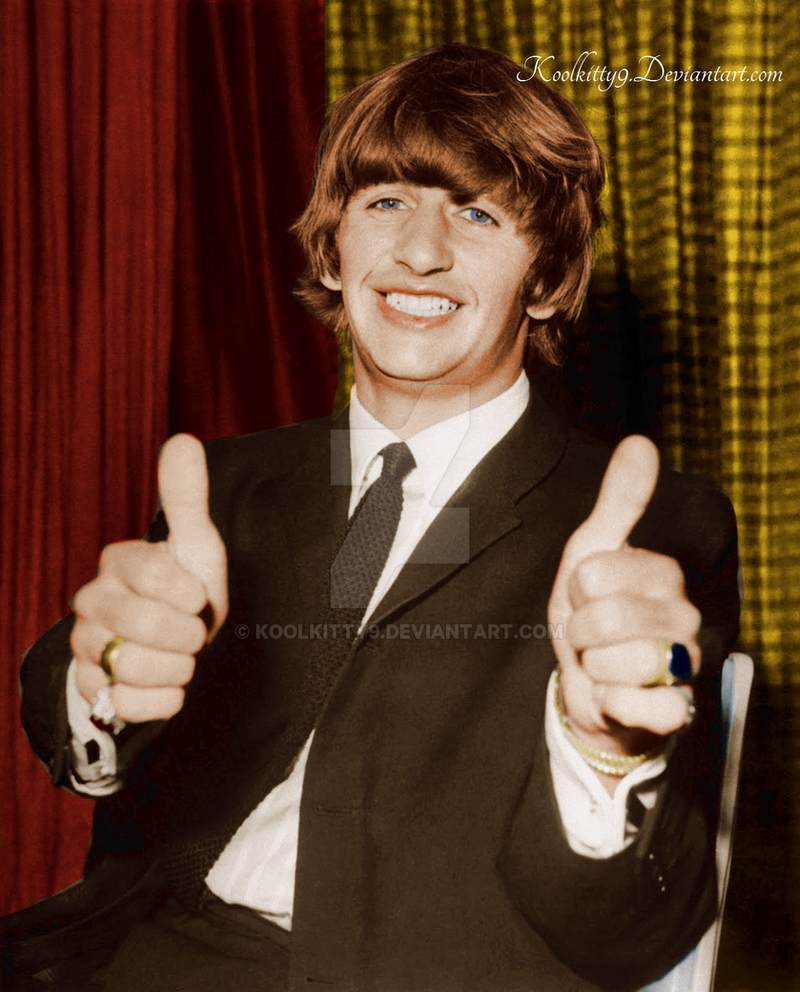 It Dont Come Easy Ringo Starr 1964 By Koolkitty9