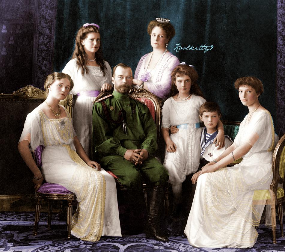 The Romanovs 1913 by koolkitty9