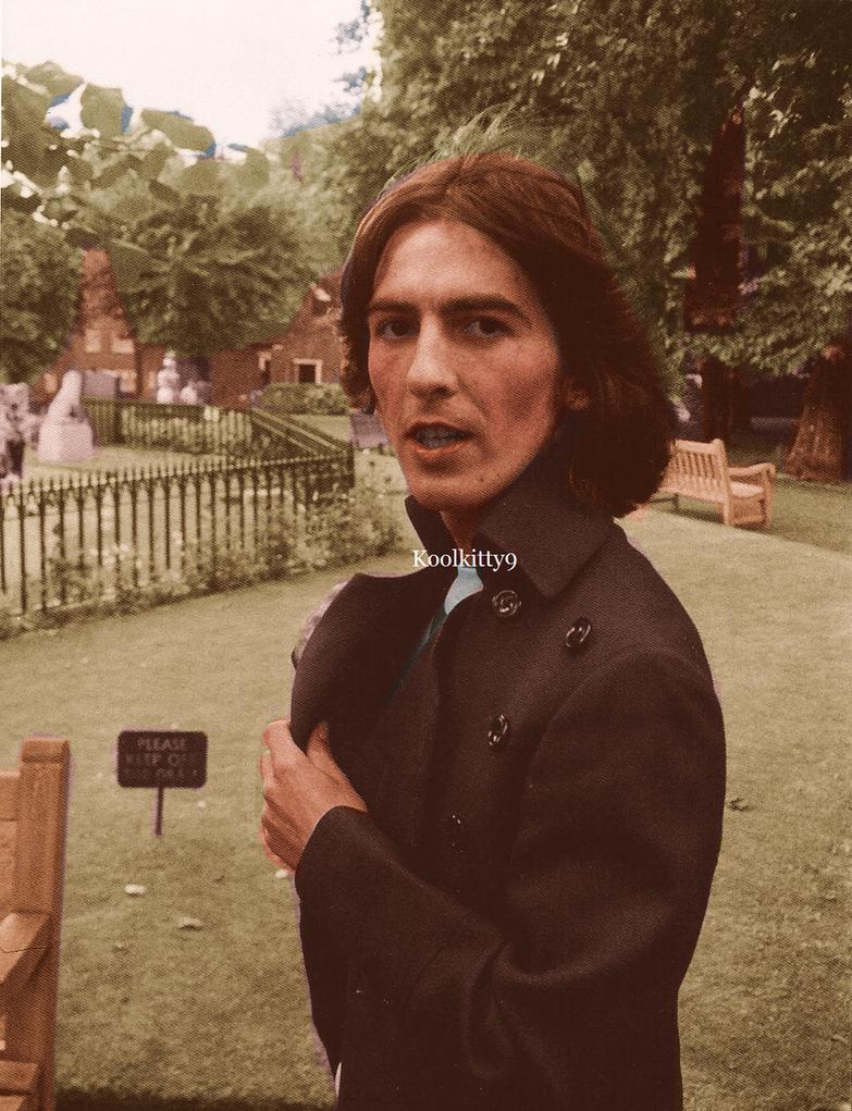 George Harrison 1968 by koolkitty9