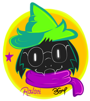 Deltarune - Ralsei by Burn-Graphite