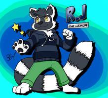 R.J the Lemur by Burn-Graphite