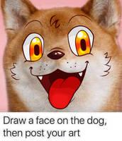 Dog Meme - Fireball by Burn-Graphite