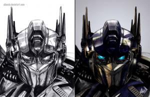 Optimus Prime by AlanLizano
