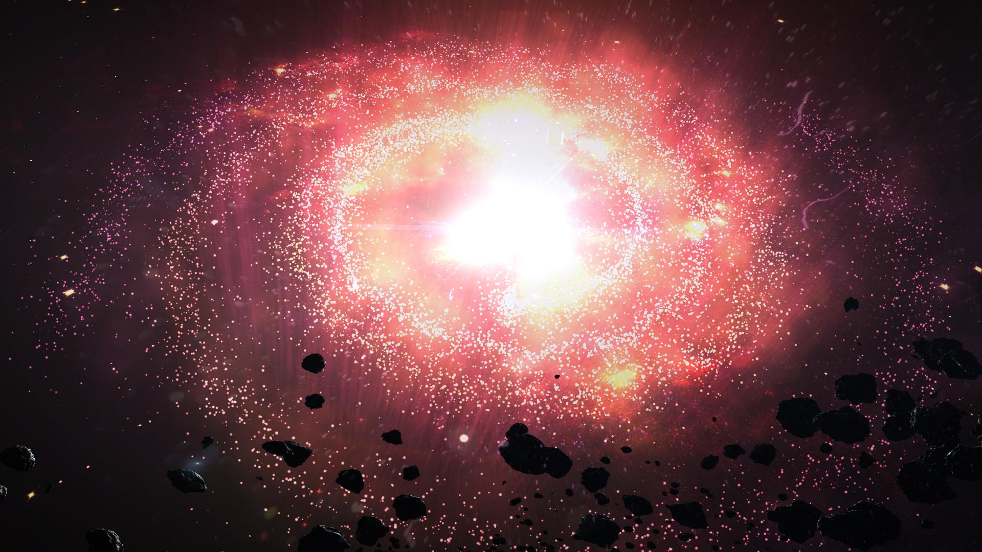 Nebula Explosion? by xameleon on DeviantArt