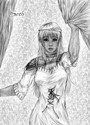 Seth Sketch by yeaka