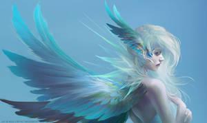 Angel by milyKnight