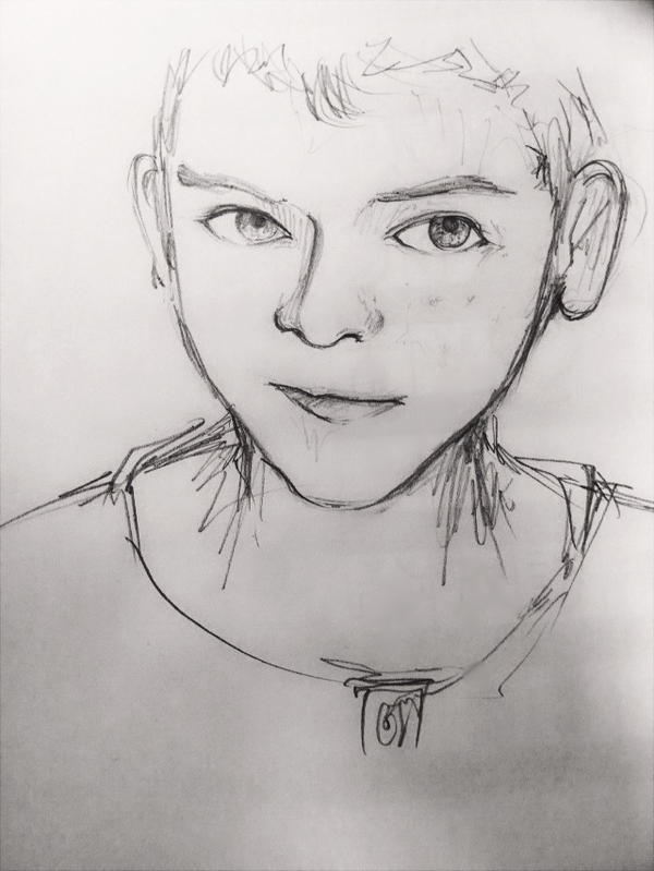 Asa Butterfield by zone-r