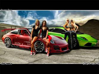 Porsche 911 Babe Rivals by brianspilner