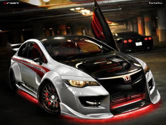 Honda Civic Type-R by brianspilner