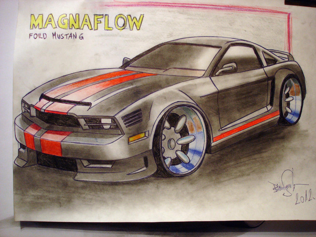 Ford Mustang by brianspilner