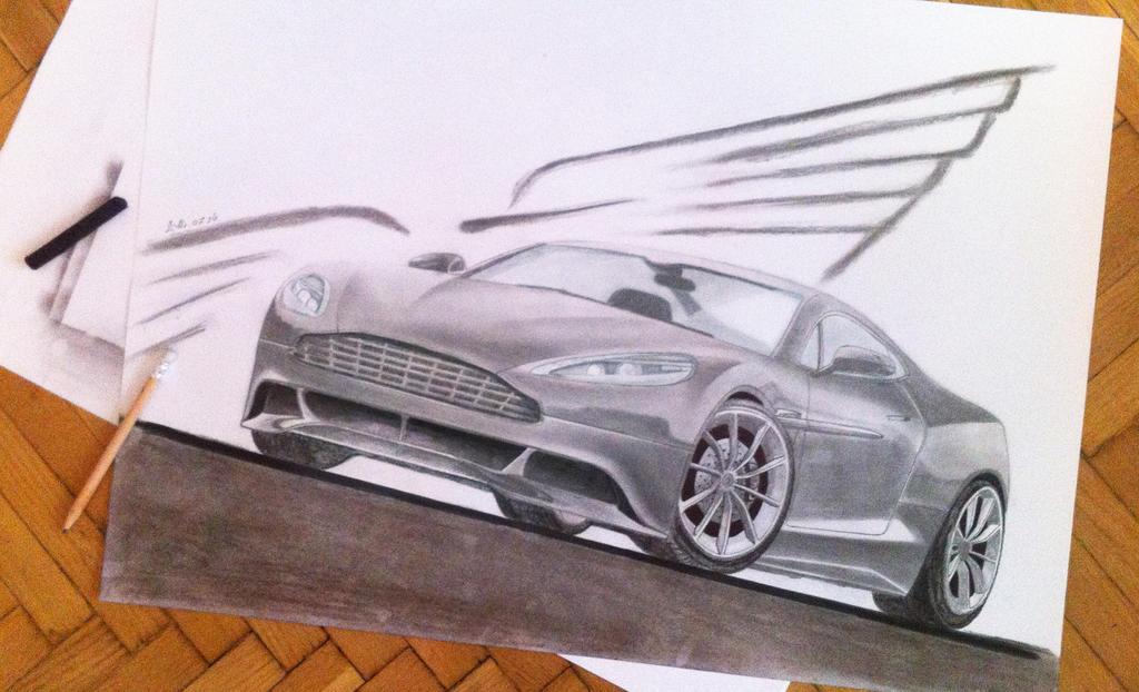 Aston Martin by brianspilner