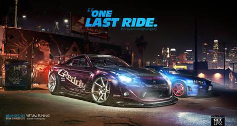 Nissan GT-R Greddy One Last Ride by brianspilner