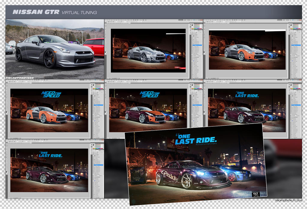 Work in progress Nissan GT-R by brianspilner